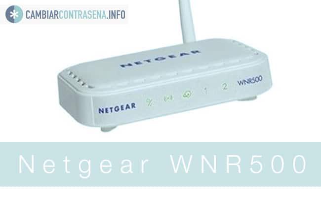 Netgear WNR500