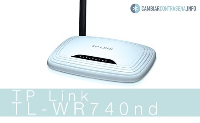 TP-Link-TL WR740nd