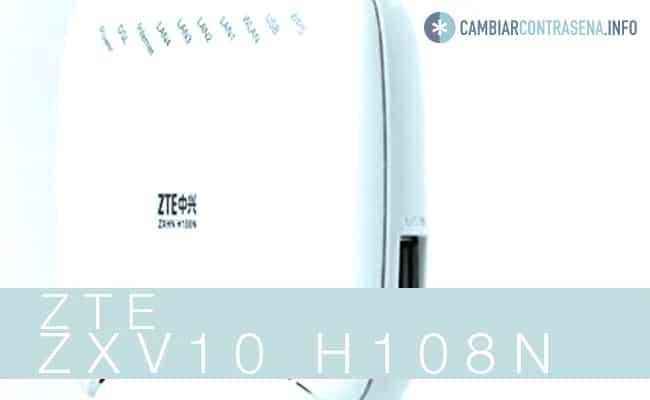 modem ZTE ZXV10 H108N