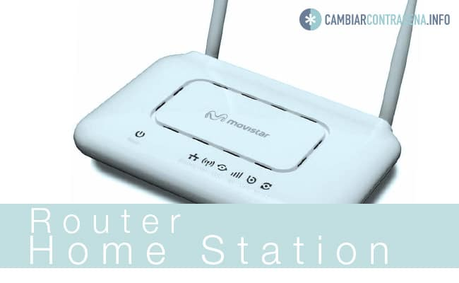cambiar wifi router home station