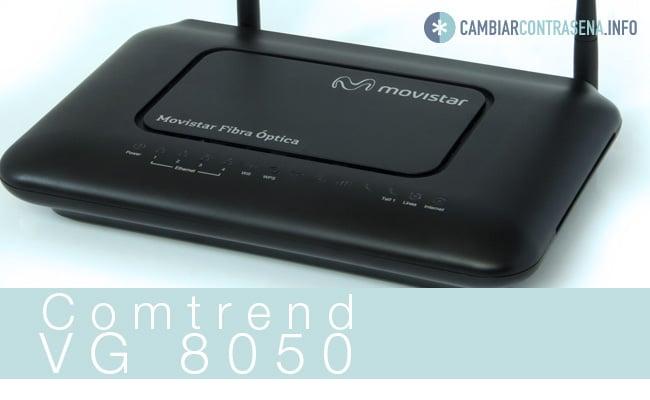 comtrend vg 8050