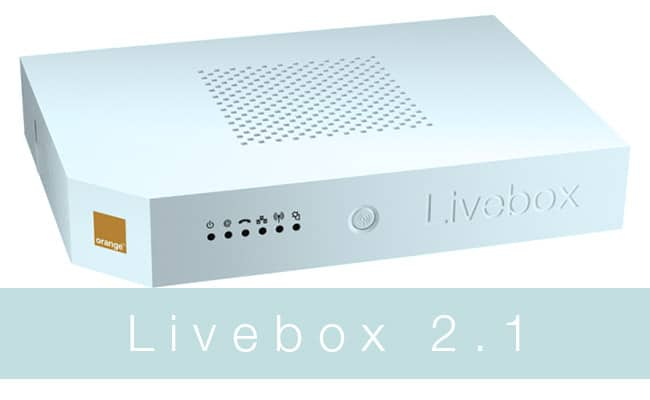 router livebox 2.1