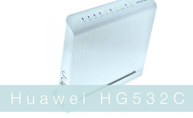 Router Huawei HG532C