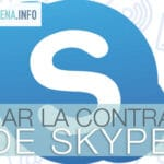 cambiar contraseña skype