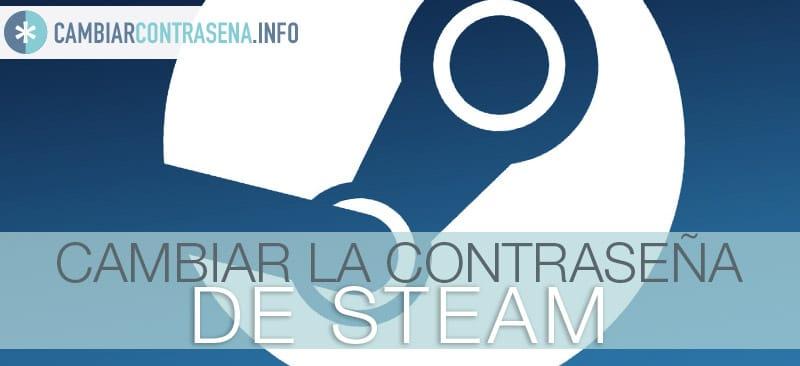 cambiar contraseña steam